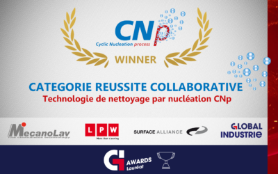 Mecanolav nettoyage CNp Global Industrie Award