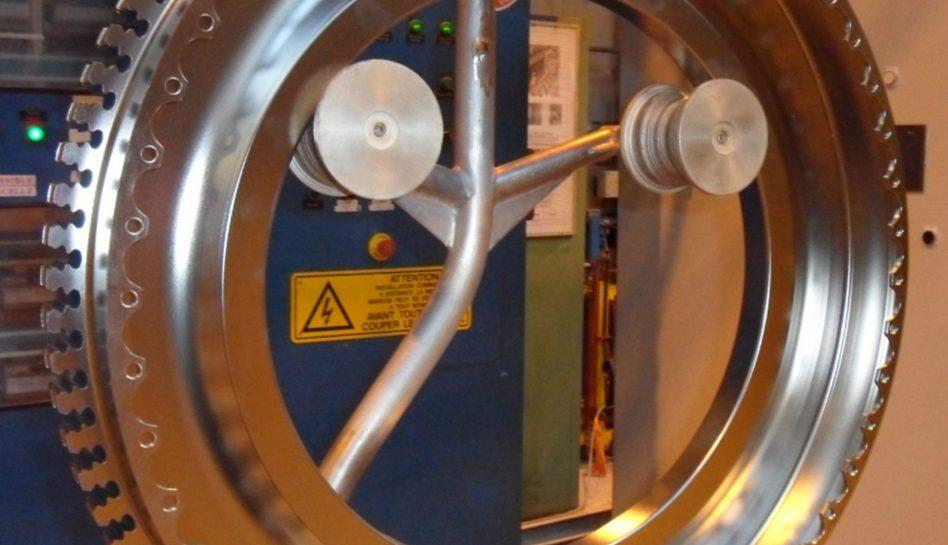 Nettoyage disque de turbine aéronautique