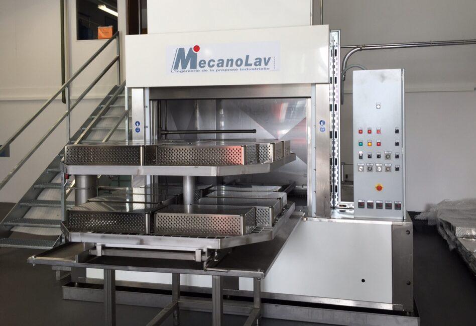 Machine de nettoyage de pièces industrielles