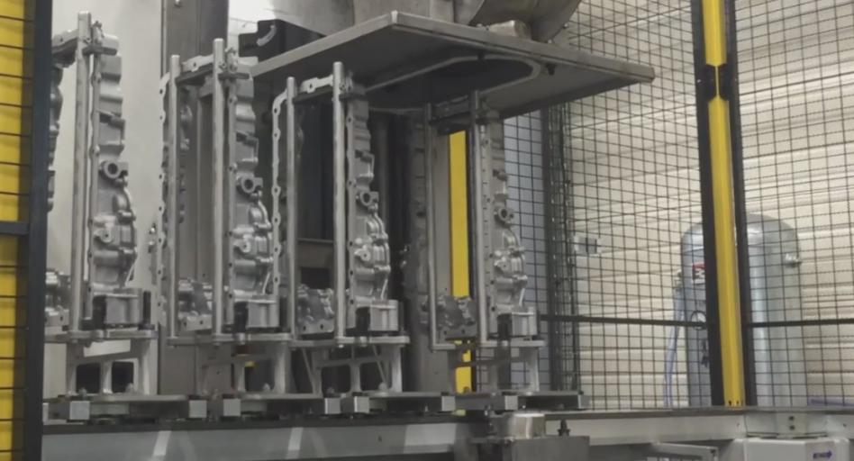 Nettoyage de carters d'huile en machine (MecanoFAST)