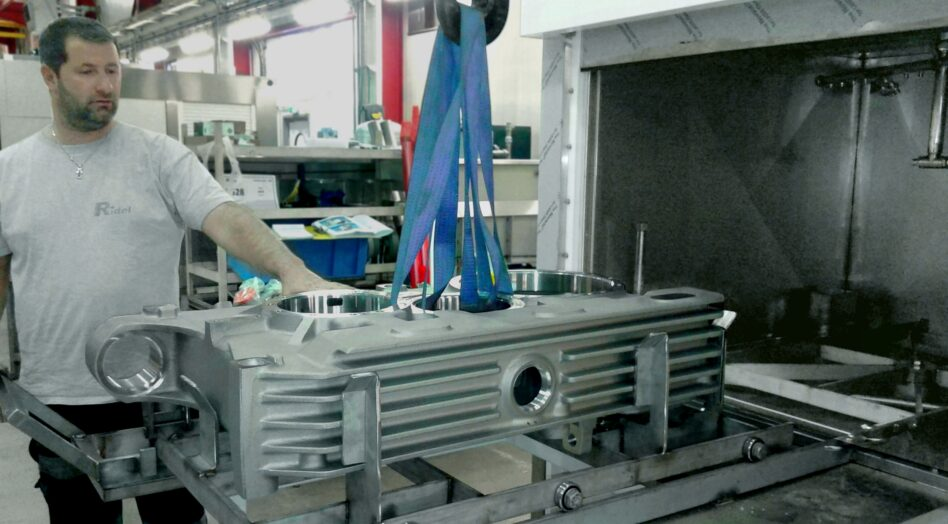 Machine de nettoyage monobain MAXIMA pour grandes charges