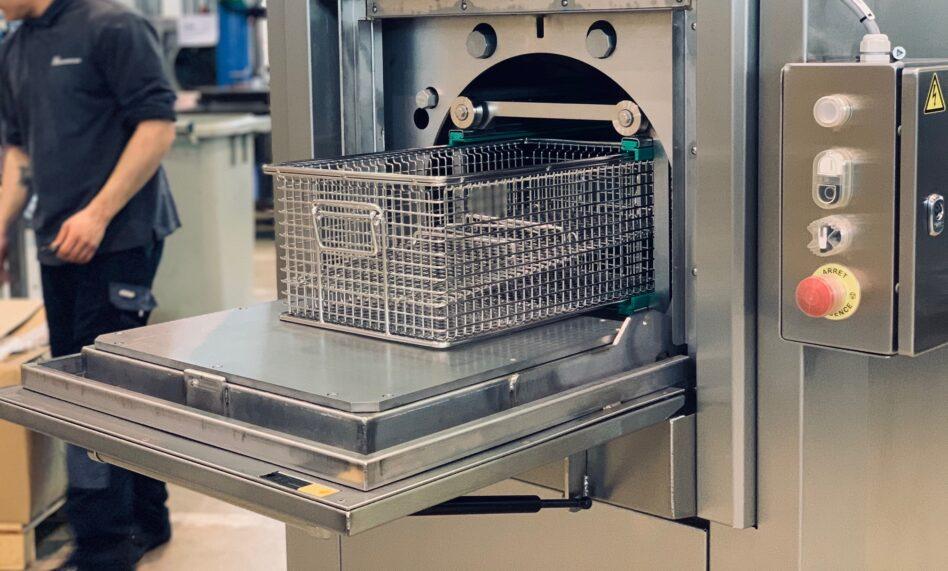 Machine de nettoyage compact pour petites charges