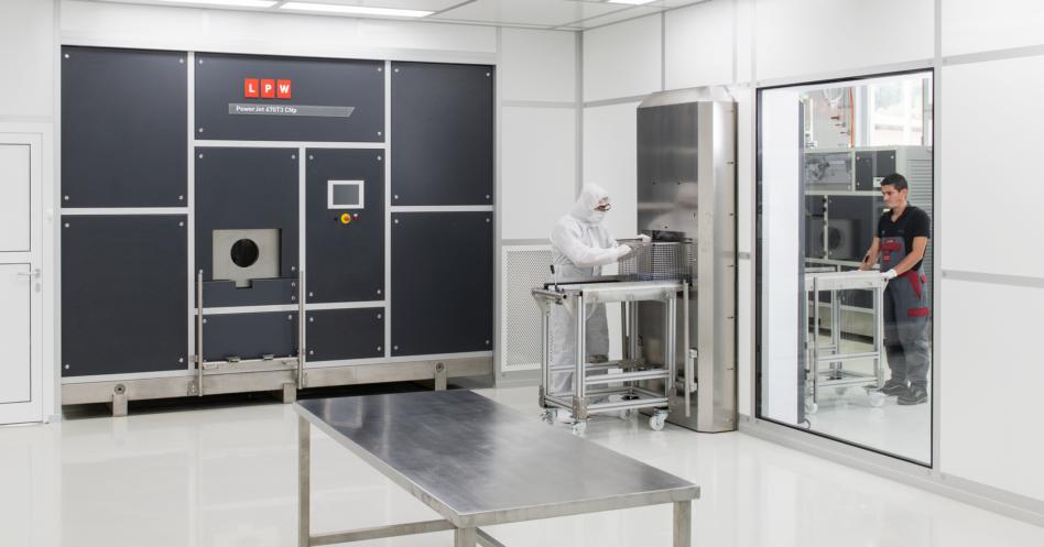 Machine de nettoyage ultrasons cnp Powerjet