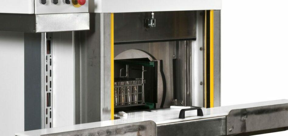 Machine de nettoyage pièces à tambour pour petites charges