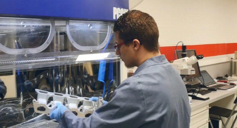 Analyse de propreté particulaire après nettoyage en machine