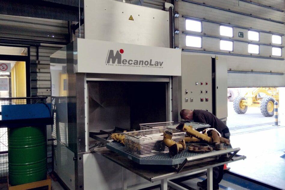 Nettoyage de pièces volumineuses en machine multibains