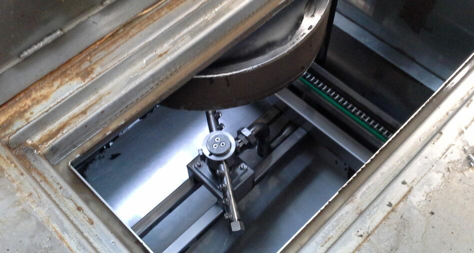 Nettoyage ciblé en tunnel pour pièces complexes