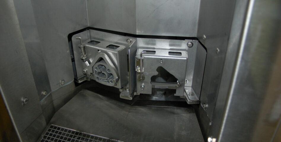 Machine de nettoyage particulaire - support posage