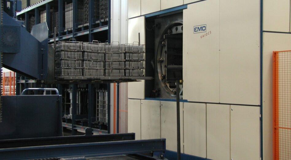 Machine de dégraissage solvants chambres sur mesure