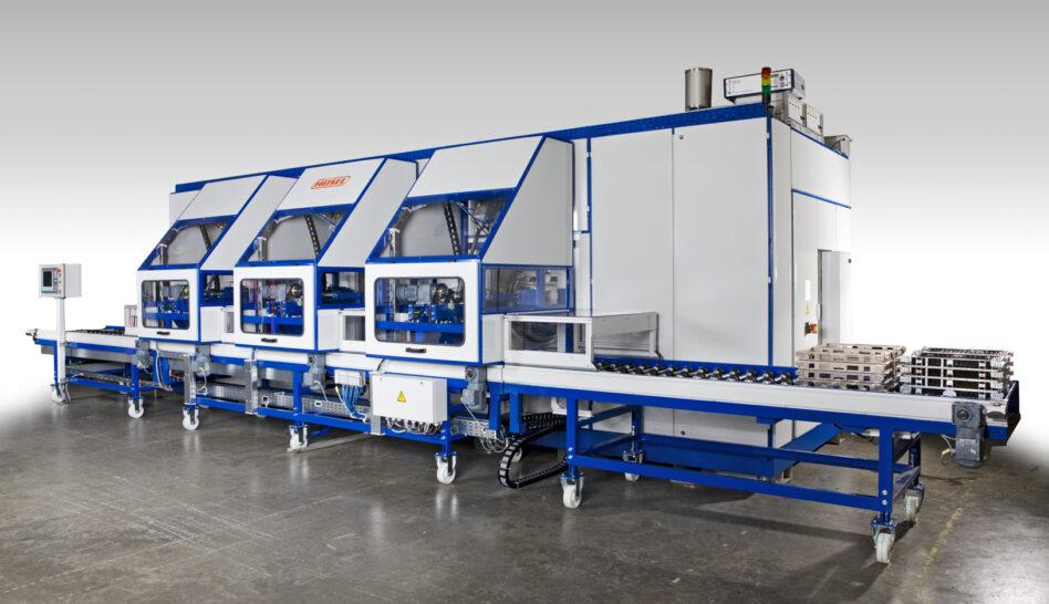 Machine de dégraissage Solvacs chambres multiples
