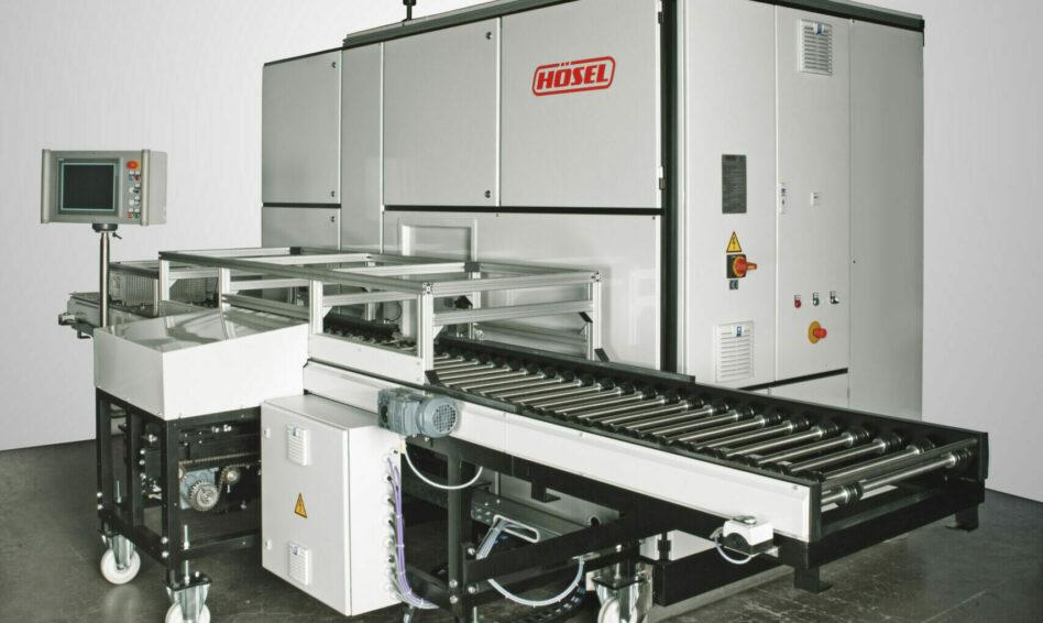 Machine de dégraissage solvants sous vide Solvacs