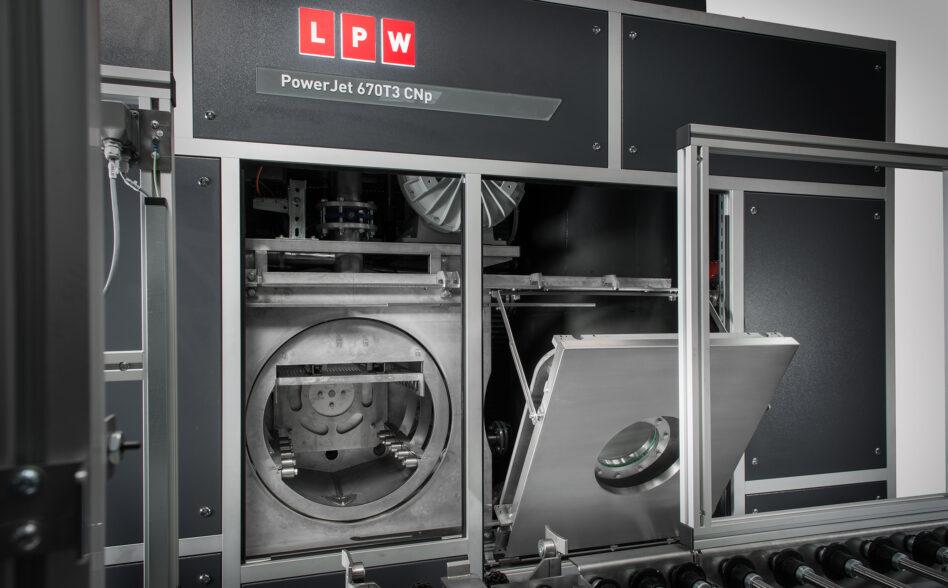 Machine de nettoyage pièces par immersion ultrasons cnp