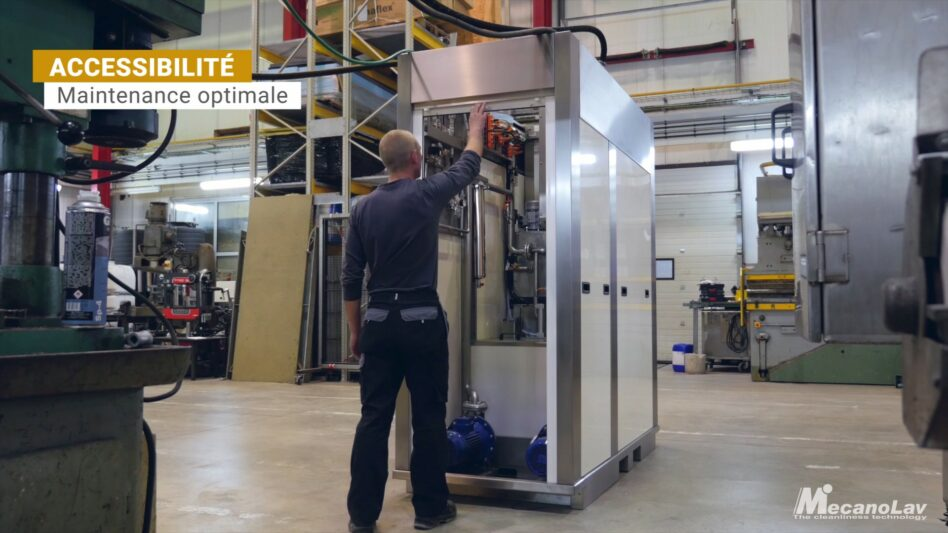 Maintenance machine de nettoyage compact