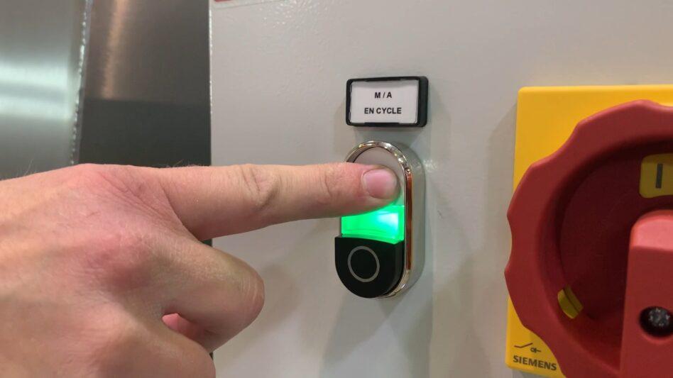 Départ automatique de cycle de nettoyage pièce