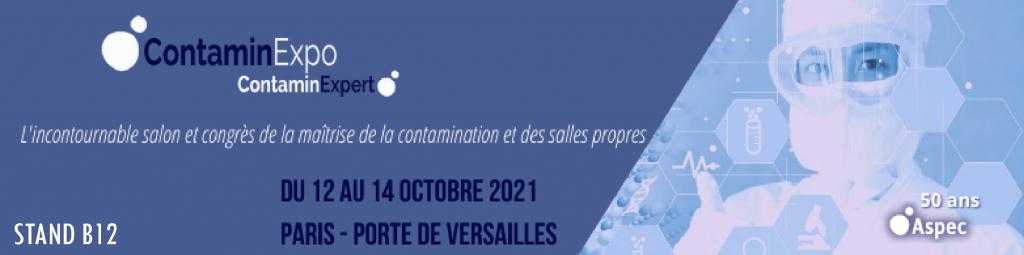 MecanoLav machines de nettoyage pièce au salon ContaminExpo
